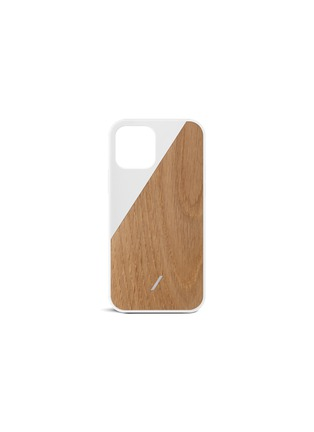 NATIVE UNION   CLIC Wooden iPhone 12 Mini Case — White   Women   Lane Crawford