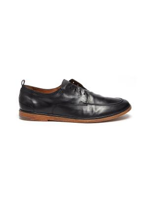 'TODI' Laceless Leather Derby Shoes