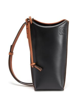 'Gate Pocket' Leather Pouch