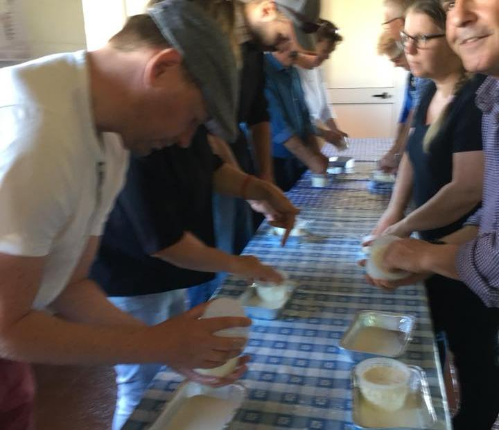Cheese making, tour and lunch at Agriturismo Archelao