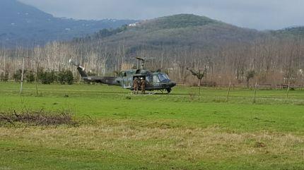 Aeronautica Militare HH212 in una fase dellesercitazione