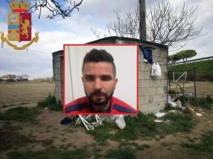 polizia ps 113 arresto SADAOUI Mourad casolare campagna terrorista algerino isis
