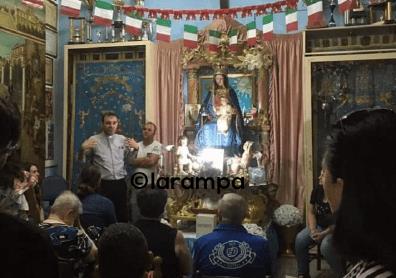 aversa Processione Maria SS Arco via Orabona2