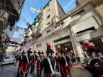 napoli carabinieri fanfara forcella 2