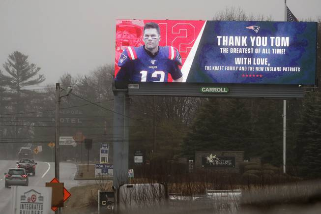 Brady billboard