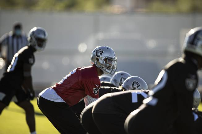 Las Vegas Raiders Hold First Practice