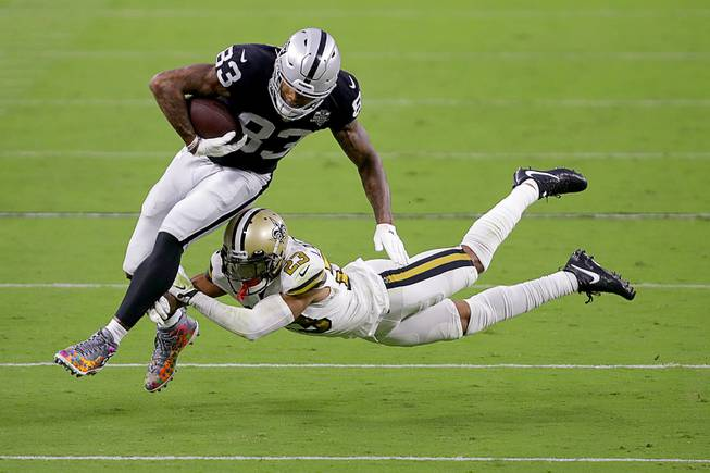 Raiders Defeat Saints, 34-24