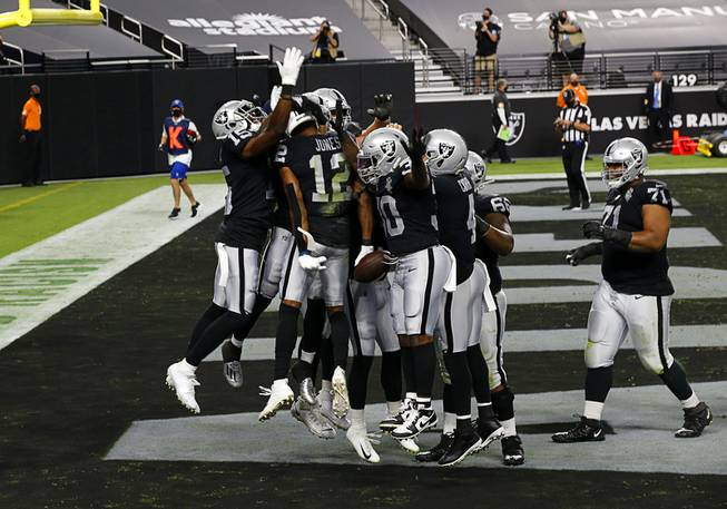 Las Vegas Raiders Take On New Orleans Saints