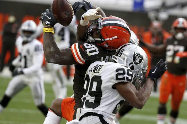 Raiders vs. Browns