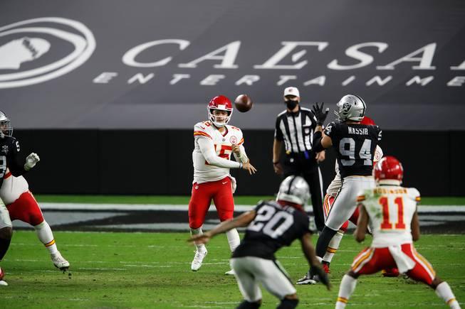 Las Vegas Raiders Against Kansas City Chiefs At Allegiant Stadium