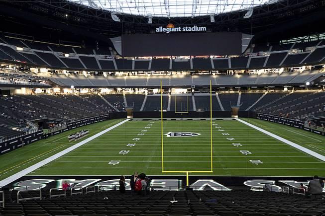 NFL Draft Party At Allegiant Stadium