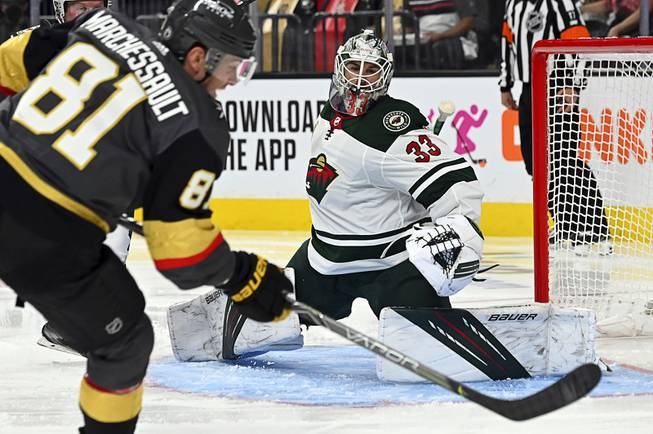 Golden Knights Lose Game 1 to Wild in OT