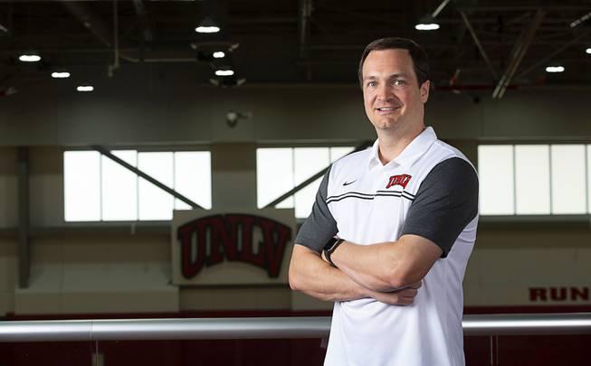 UNLV Basketball Head Coach Kevin Kruger