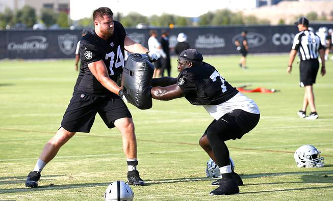 Aug. 12: Raiders Training Camp