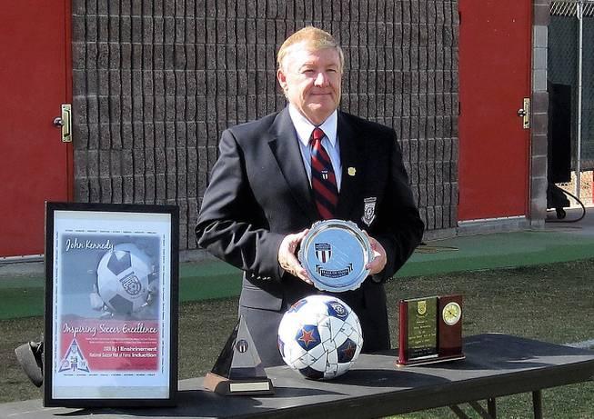 John Kennedy soccer