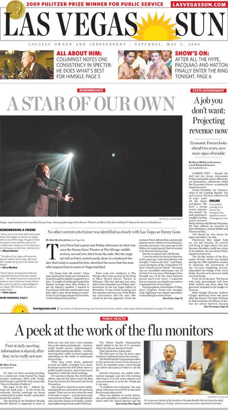 John Kats Las Vegas Sun column