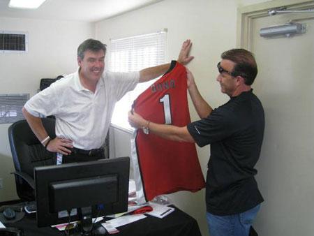 UNLV jersey for Bono