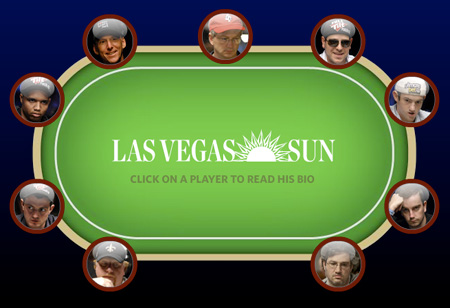 Las Vegas Sun WSOP coverage