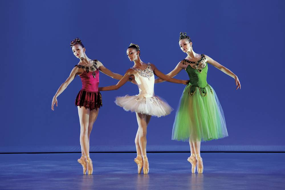 Balanchines abstract ballet Jewels leaps into the Smith