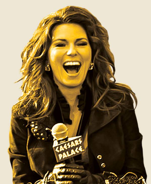 Shania Twain Teeth : shania, twain, teeth, Photograph:, Shania, Twain, Vegas, Weekly