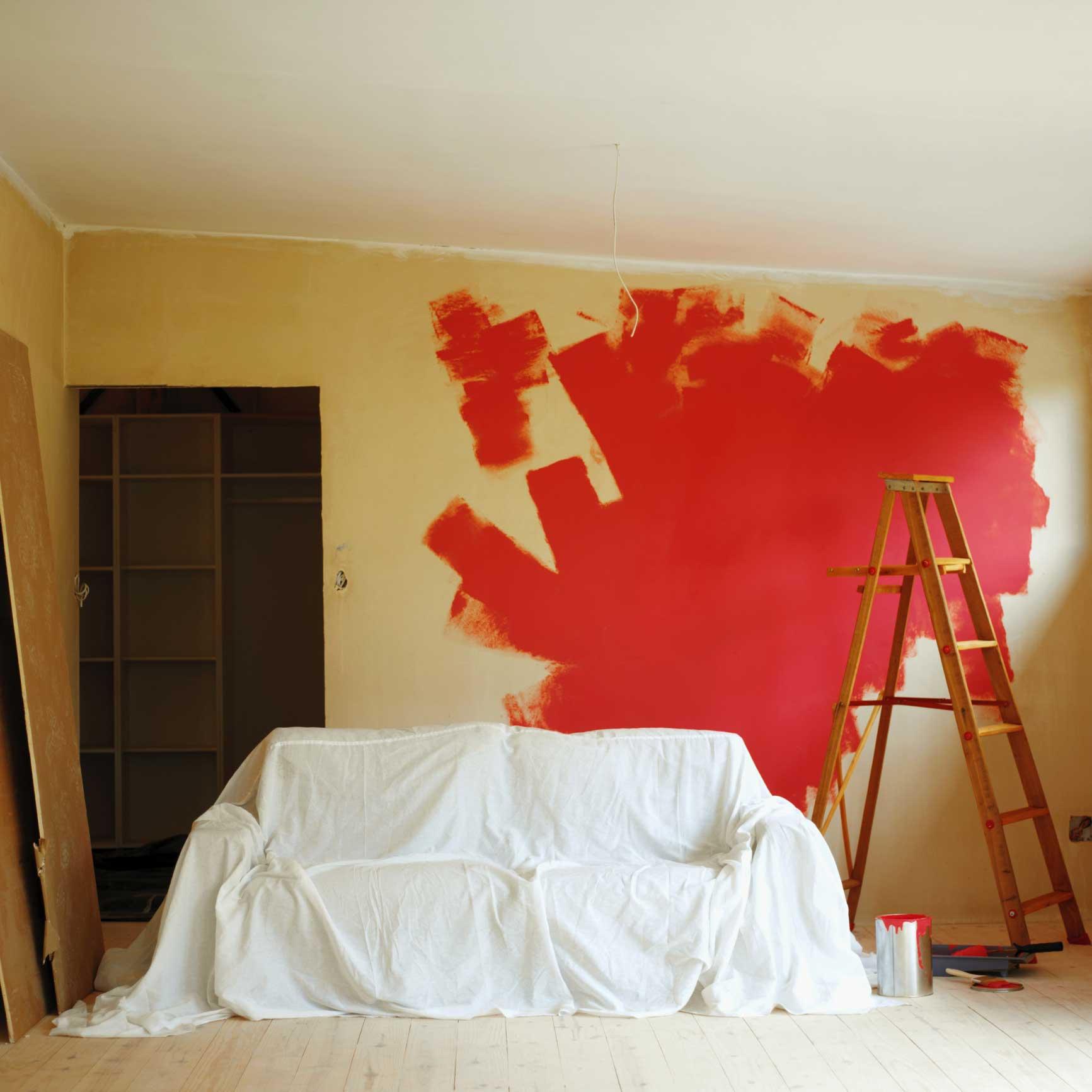 Preparare le pareti alla tinteggiatura