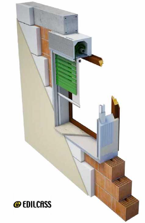 Avvolgibili, con sistemi in grado di garantire tenuta all'aria, abbattimento dei rumori e isolamento termico. Nuovi Cassonetti Per Avvolgibili