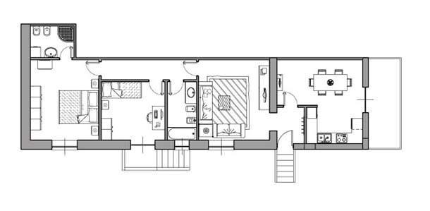 Casa di 80 mq 5 idee di progetto