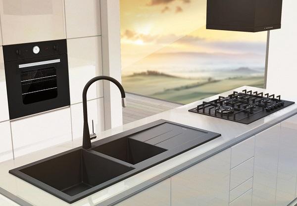 Lavelli in materiale composito per la cucina