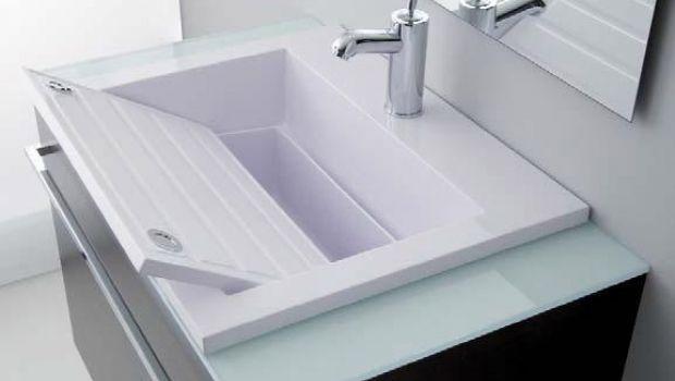 Sistema combinato lavabo lavatoio