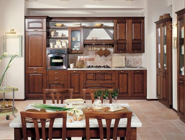 Cucina Di Legno - Idee per la decorazione di interni - coremc.us