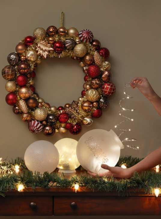 Luci di Natale per addobbare la casa