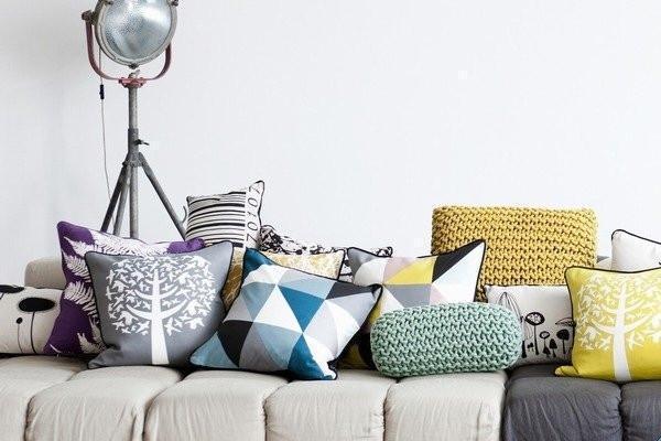Foto  Cuscini per divani un tocco decorativo in casa