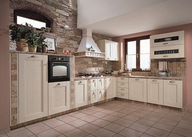 Foto  Cucina in muratura