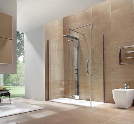 Bagno con doccia progetto