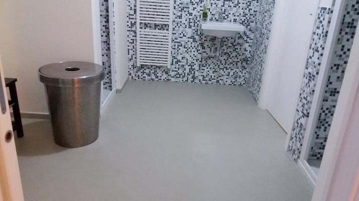 Cemento spatolato rivestimenti per pavimenti