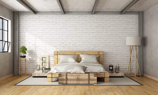 Fra le idee, quella per la seconda camera da letto, illuminata da una nuova finestra sul tetto e. Zona Notte In Mansarda