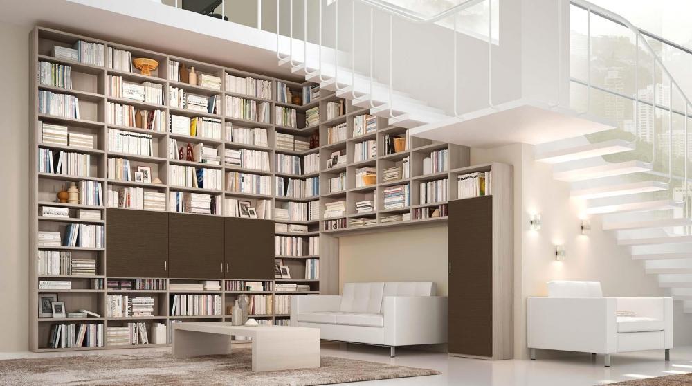 Foto  Libreria legno fai da te