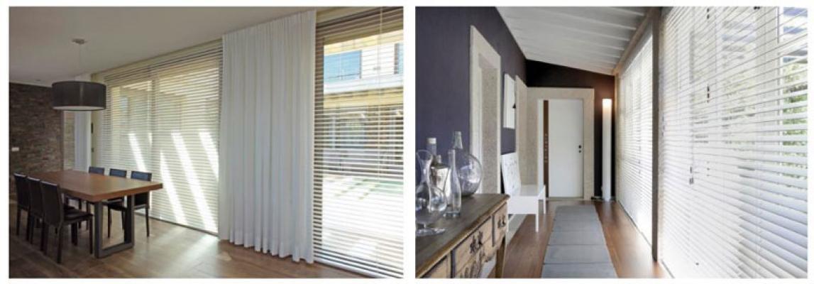 Finestra in pvc tende alla veneziana bianco easy fit home office cieco effetto legno tutte le dimensioni. Veneziane In Legno Massiccio