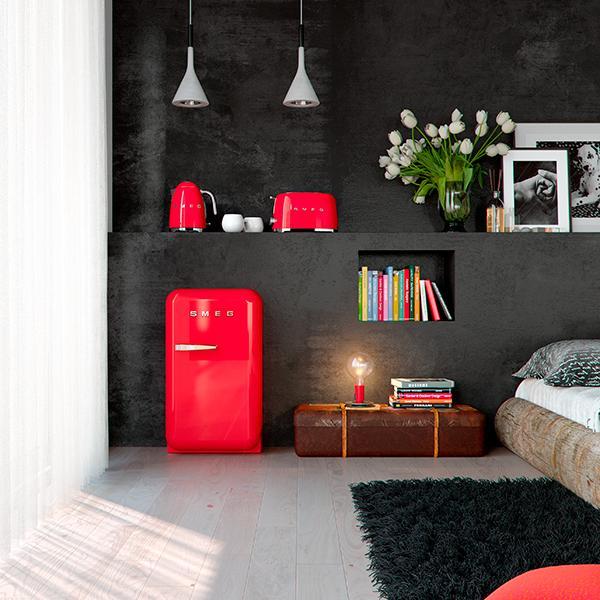 Frigoriferi colorati per una casa di tendenza