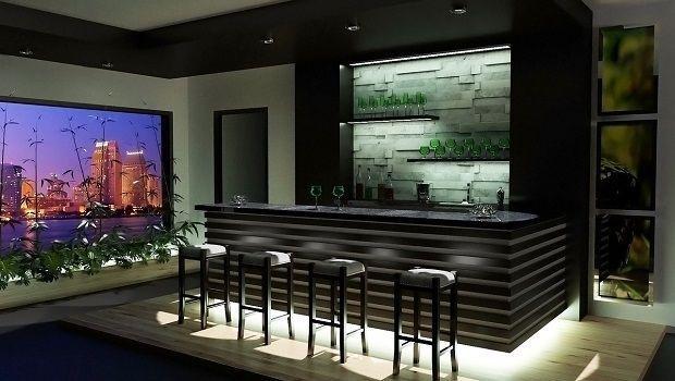 10 idee per la scelta del colore delle pareti del soggiorno Angolo Bar In Casa