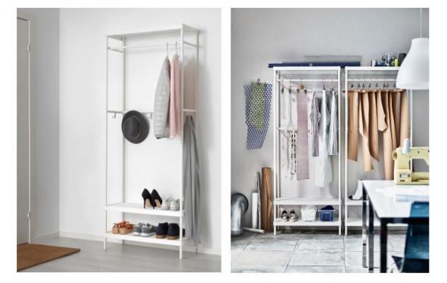 Porta Abiti Con Ruote Ikea