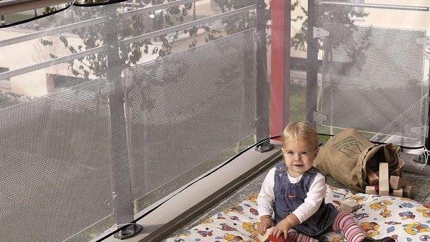 Protezione balconi per bambini