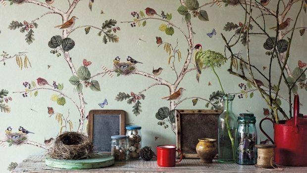 Cerca tra milioni di immagini, fotografie e vettoriali a prezzi convenienti. Carta Da Parati Stile Botanico