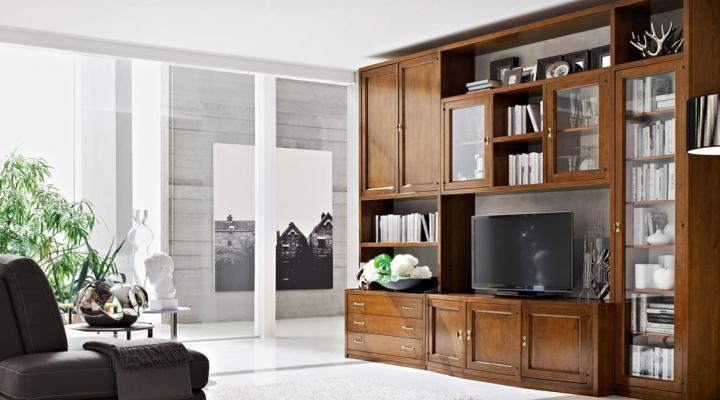 Scopri i nostri mobili classici e fai rivivere la tradizione a casa tua. Soggiorno Classico