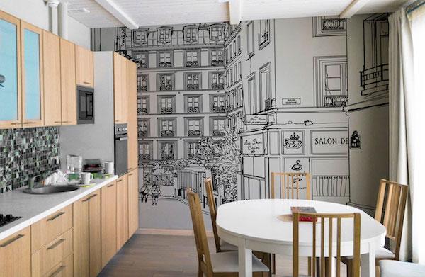 Lavabile e resistente, la carta da parati per cucina di ultima generazione vi permetterà di abbattere qualsiasi barriera in termine di. Rivestimenti Per Cucina Le Soluzioni Piu Creative