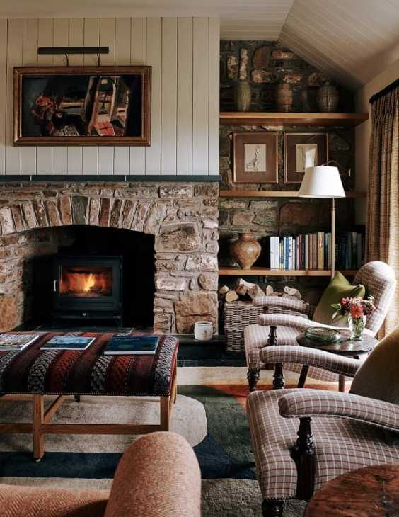 La pietra e il calcestruzzo sono alternative ideali tra i pavimenti rustici per case di campagna. Come Arredare Una Casa In Campagna
