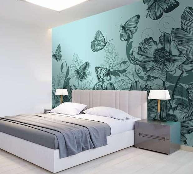 pareti in pietra in camera da letto, uno stile di tendenza. Pareti Camera Da Letto