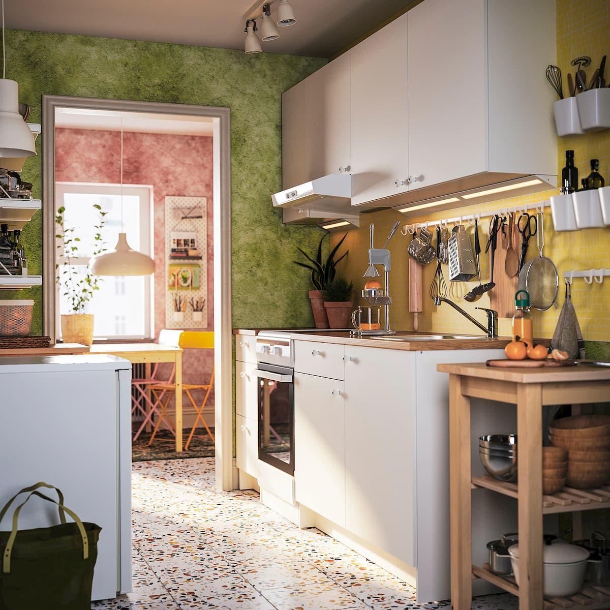Organizzate perciò bene gli spazi. Foto Cucina Piccola