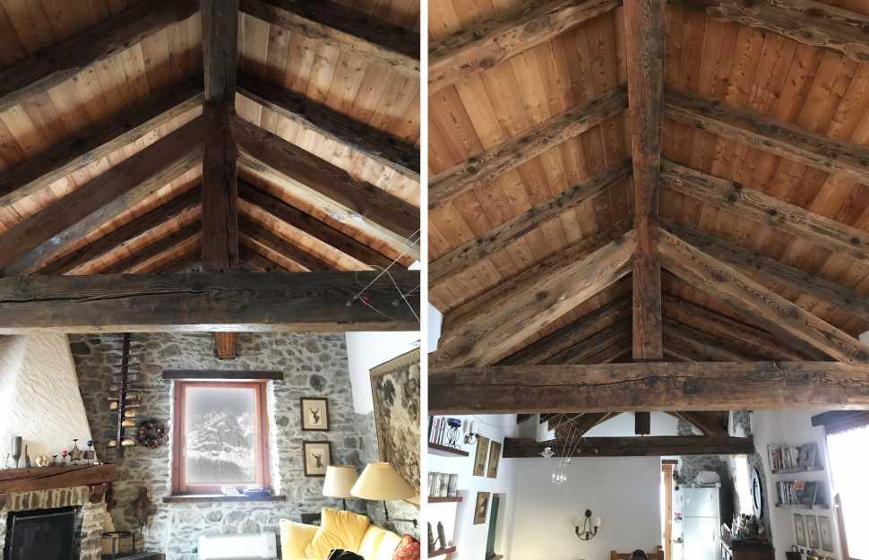 Arredare case piccole di 40 o 50 mq: Arredamento Casa In Montagna Stile Rustic Chic