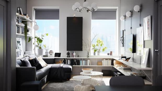 Come arredare un soggiorno piccolo o una cucina piccola ma non. Arredamento Soggiorno 5 Idee Per Un Living Di 20 Mq